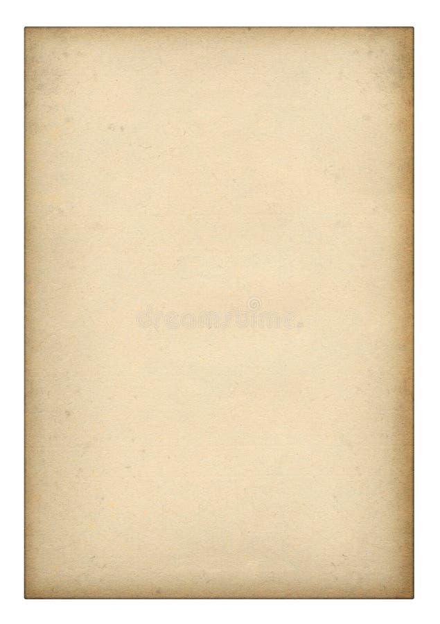 gammalt paper stycke arkivfoton