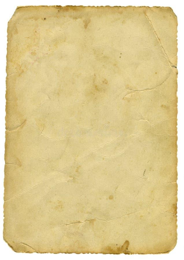 gammalt papper fotografering för bildbyråer