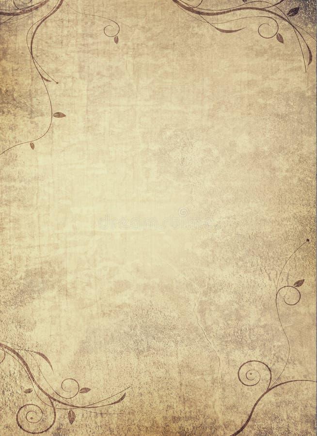 gammalt papper royaltyfria foton