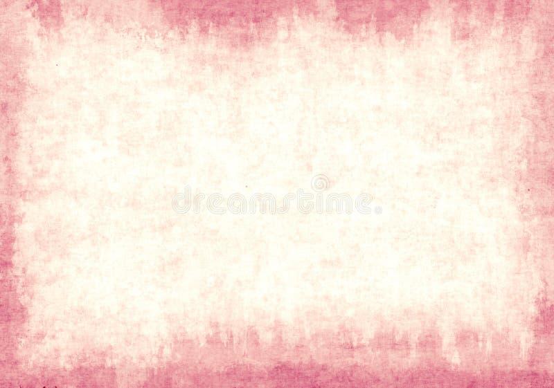Gammalt papper för textur av rosa färgfärg royaltyfri fotografi