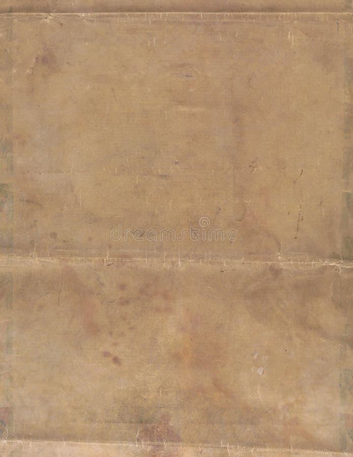 gammalt papper stoppar texturtappning arkivbilder