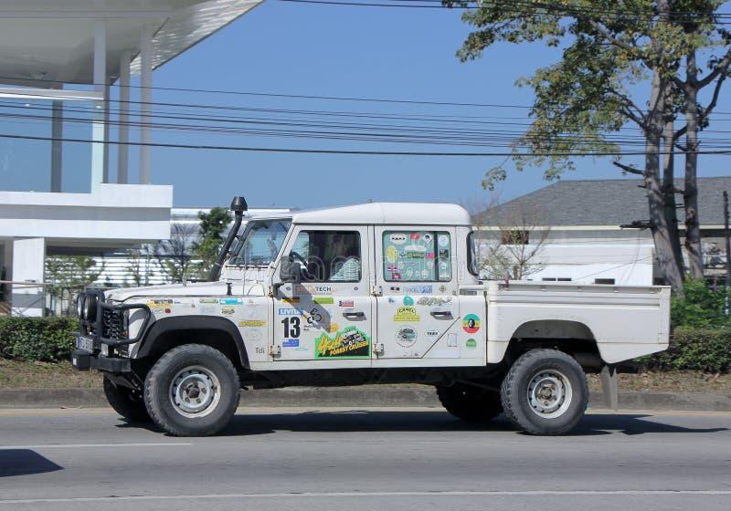 Gammalt privat land Rover Truck arkivfoton