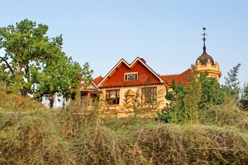 Gammalt Rand Lord hus i Johannesburg arkivbild