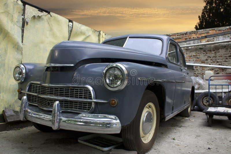 gammalt retro för bil arkivbilder
