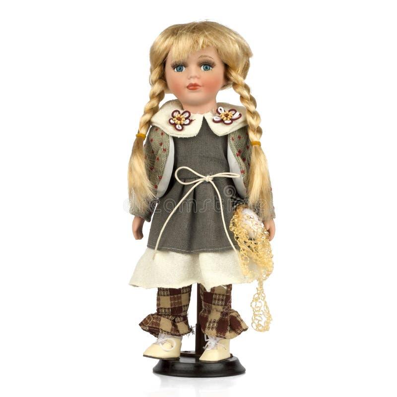 gammalt retro för docka royaltyfri foto