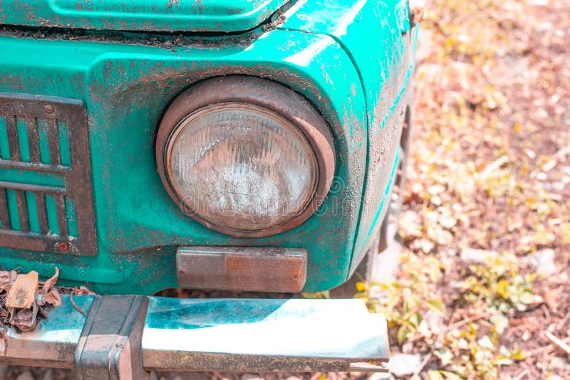 gammalt retro f?r bil arkivbilder
