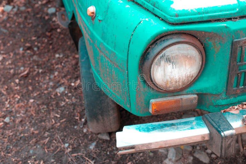 gammalt retro f?r bil arkivbild