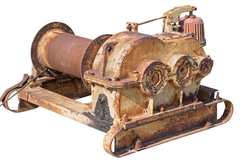 gammalt rostigt för mekanism arkivbild