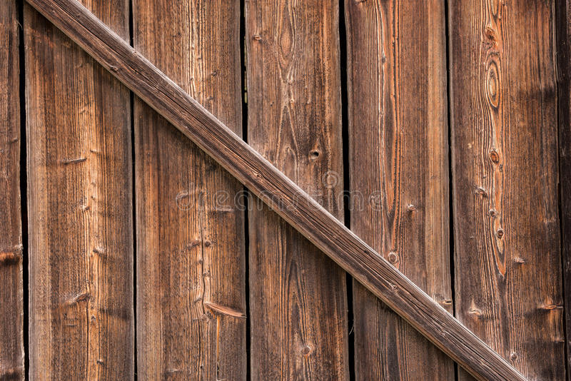 Gammalt sörja trä arkivfoto