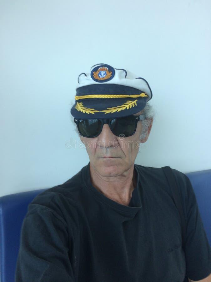 Gammalt sjömanleende arkivfoto
