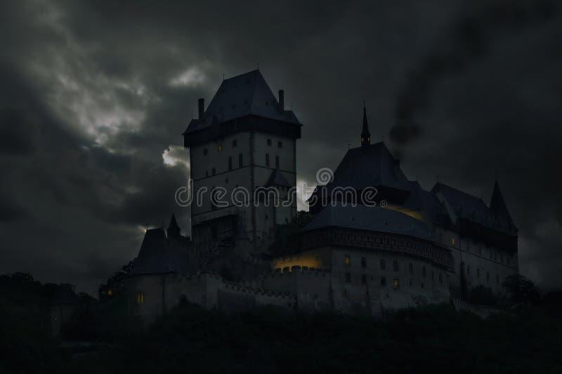 gammalt slott royaltyfria bilder