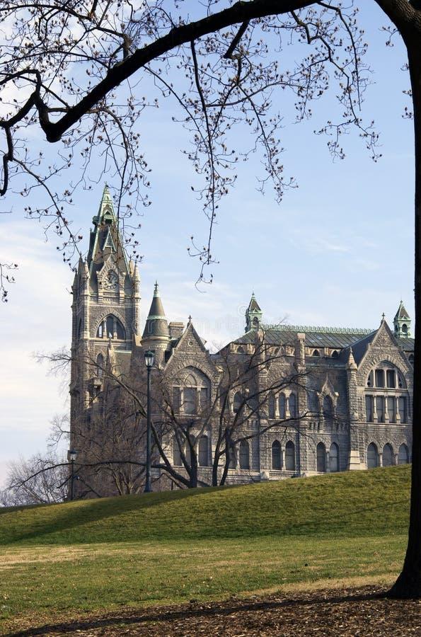 Gammalt stadshus i Richmond, Virginia royaltyfri foto