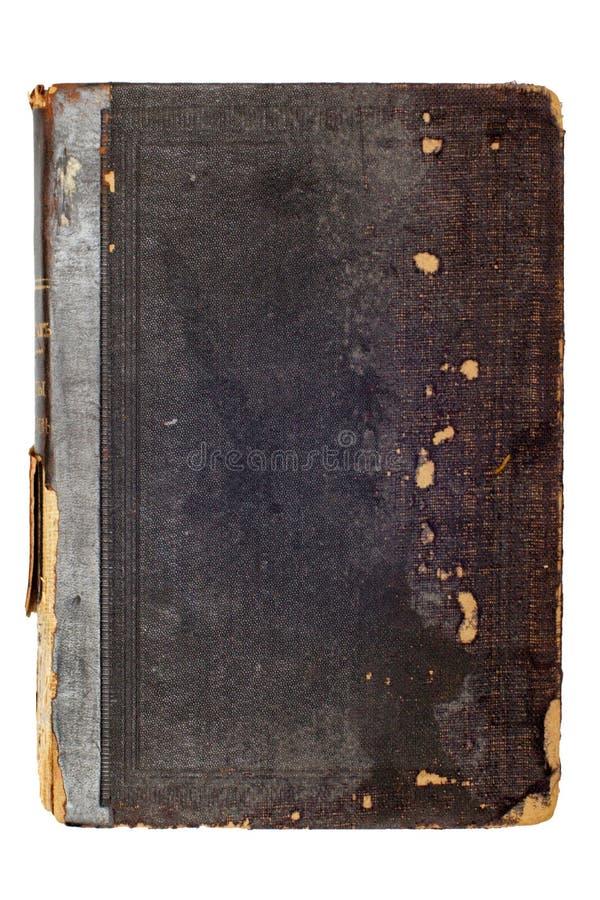 gammalt svart bokomslag royaltyfria bilder