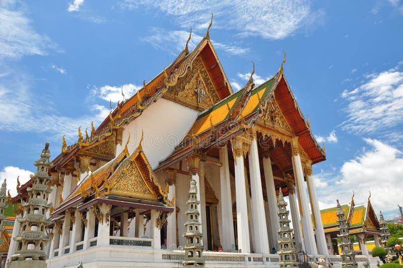gammalt tempel thailand fotografering för bildbyråer