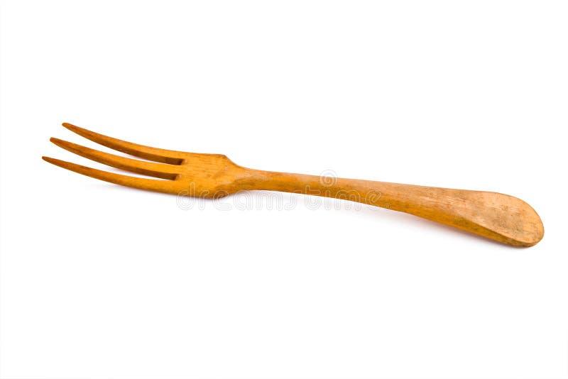 gammalt trä för gaffel arkivfoton