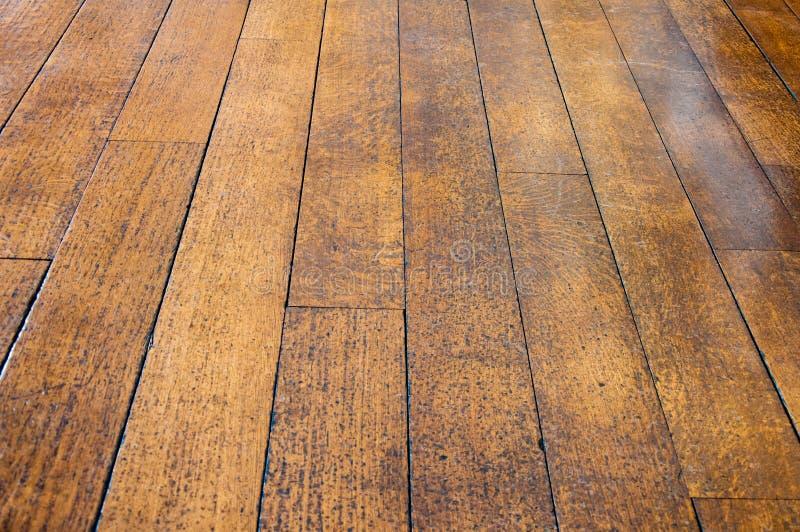 gammalt trä för golv royaltyfri foto