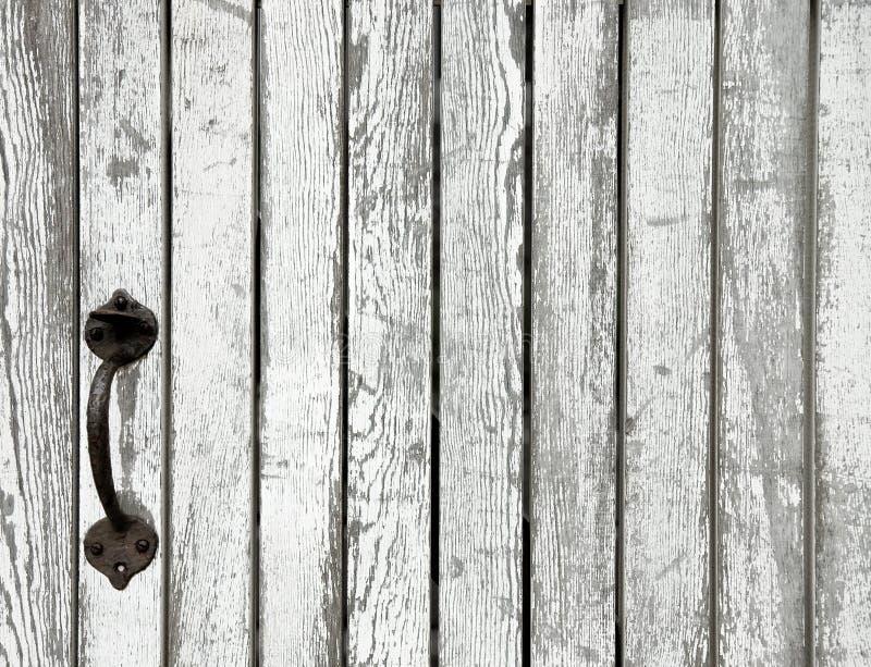 gammalt trä för port royaltyfri foto