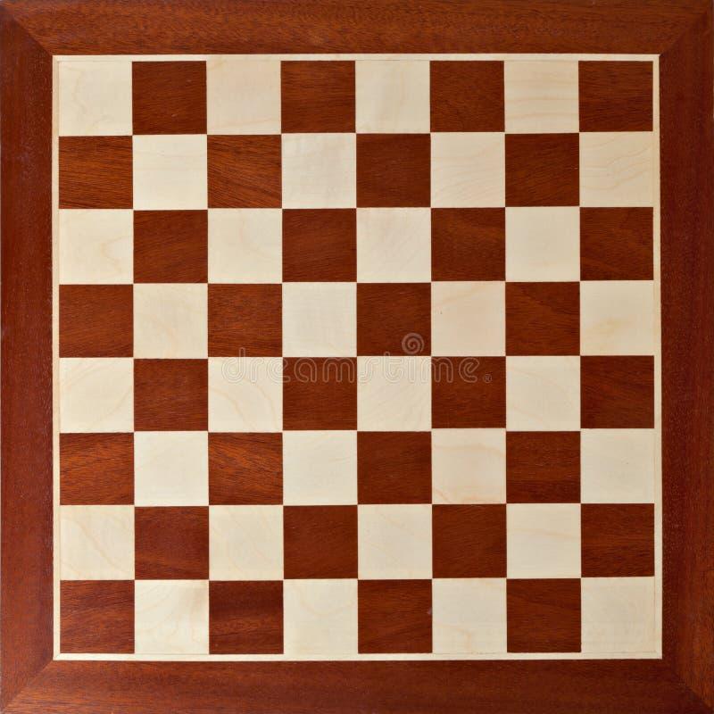 Gammalt träschackbräde royaltyfri foto