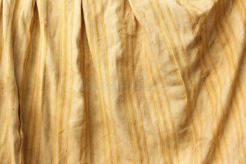 Gammalt tyg för textur royaltyfria foton