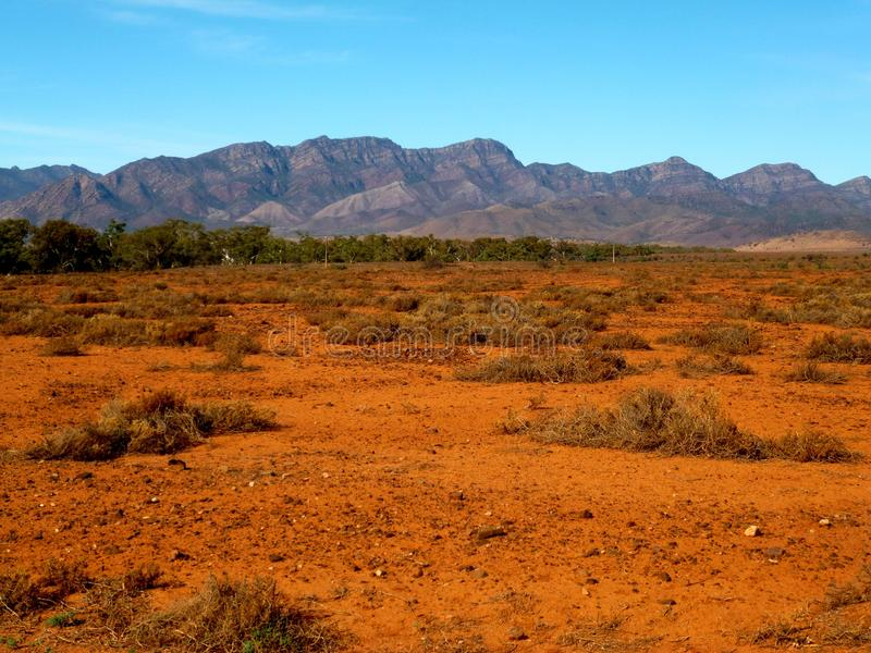 Gamme del Flinders fotografia stock