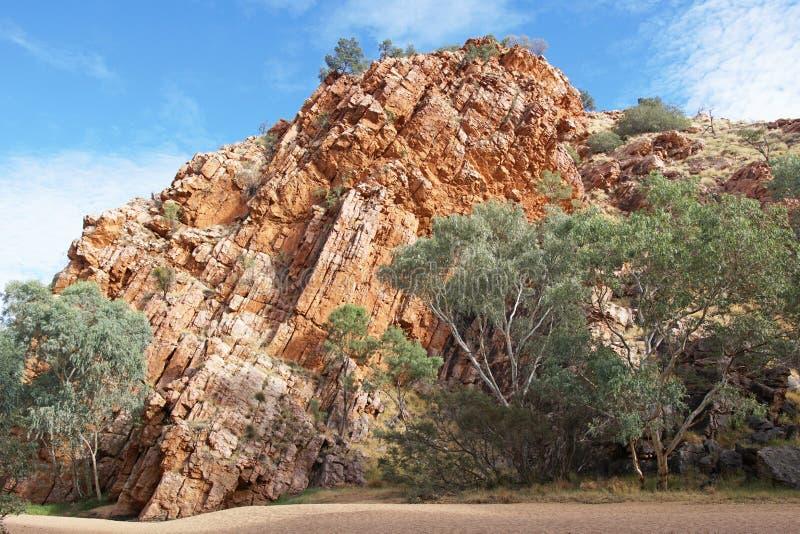 Gamme orientali di MacDonnell, Australia immagini stock libere da diritti
