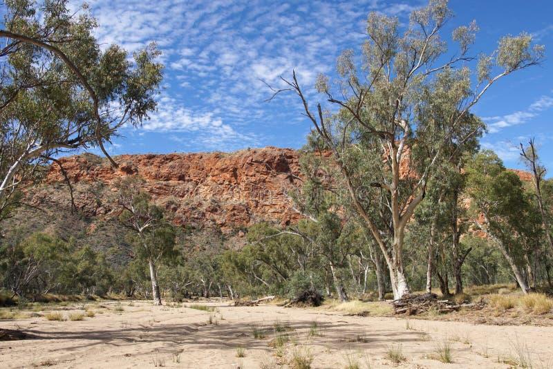 Gamme orientali di MacDonnell, Australia fotografie stock libere da diritti