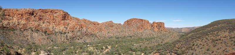 Gamme orientali di MacDonnell, Australia fotografia stock