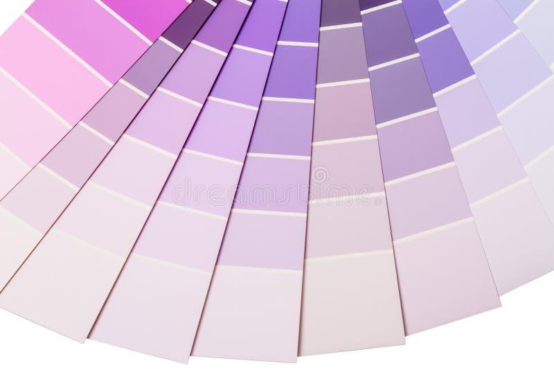 gamme pourpre et lilas de couleur image stock image du. Black Bedroom Furniture Sets. Home Design Ideas