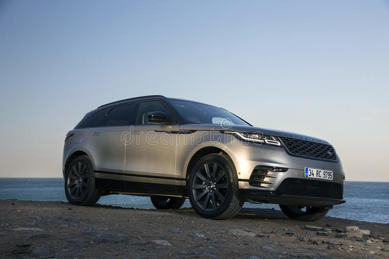 Gamme Rover Velar photographie stock