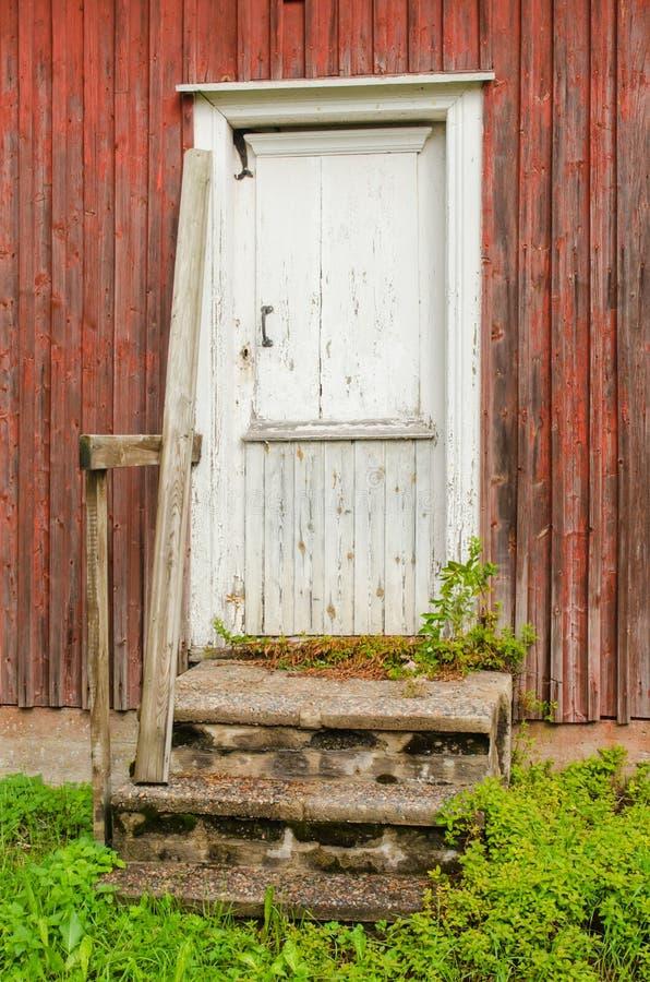 Gammelstad kościół miasteczko zdjęcia royalty free