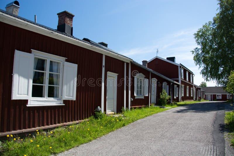 Gammelstad, Lulea, Zweden royalty-vrije stock afbeeldingen