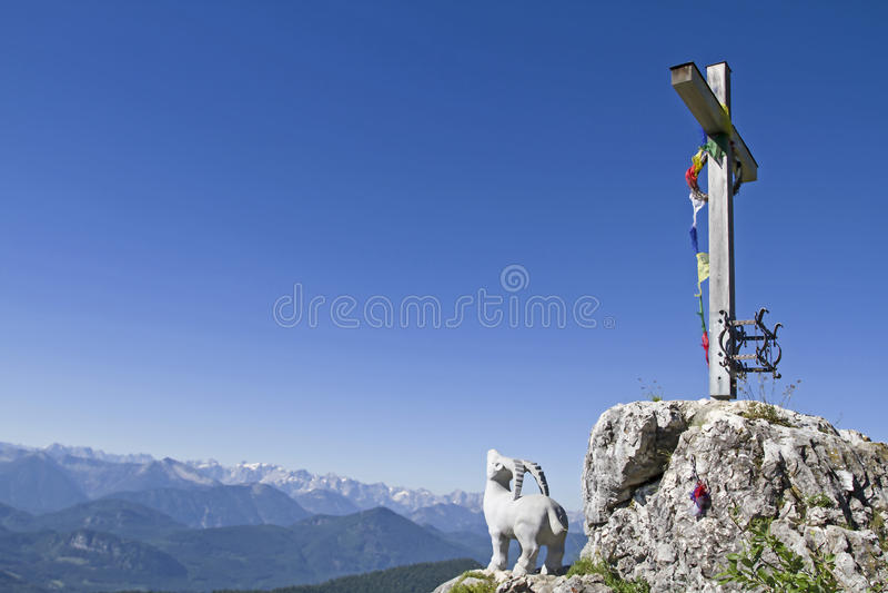 Gamskopf - petit secteur Brauneck de sommet photos libres de droits