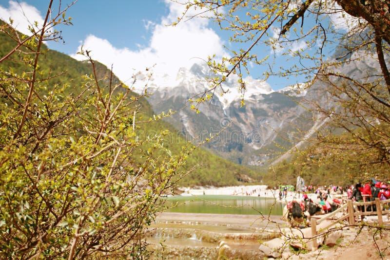 Gan Haizi, Lijiang royalty-vrije stock fotografie