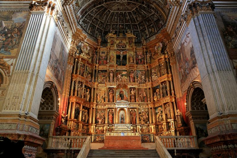 Ganada spain Monastério do nimo de Granada do ³ de San Jerà imagem de stock royalty free