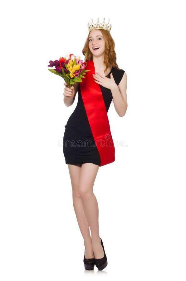 Download Ganador Del Concurso De Belleza Aislado Foto de archivo - Imagen de belleza, alineada: 41917044