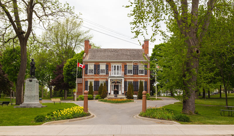 Gananoque Town Hall royalty free stock image