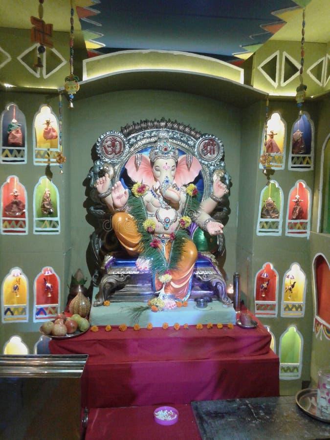 Ganapari Bappa morya obraz royalty free