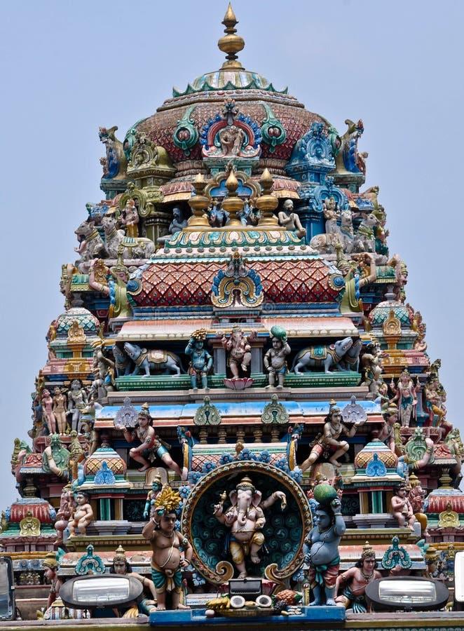 Ganapati hinduska świątynia zdjęcie royalty free