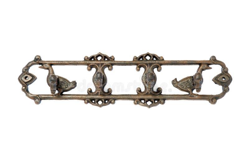 Gancho antigo do metal imagens de stock royalty free