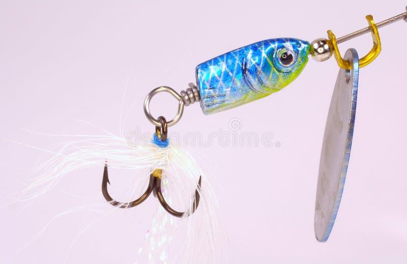 Gancho de peixes fotografia de stock