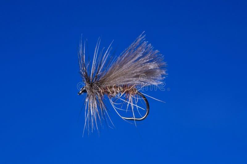 Gancho de pesca da mosca fotos de stock royalty free