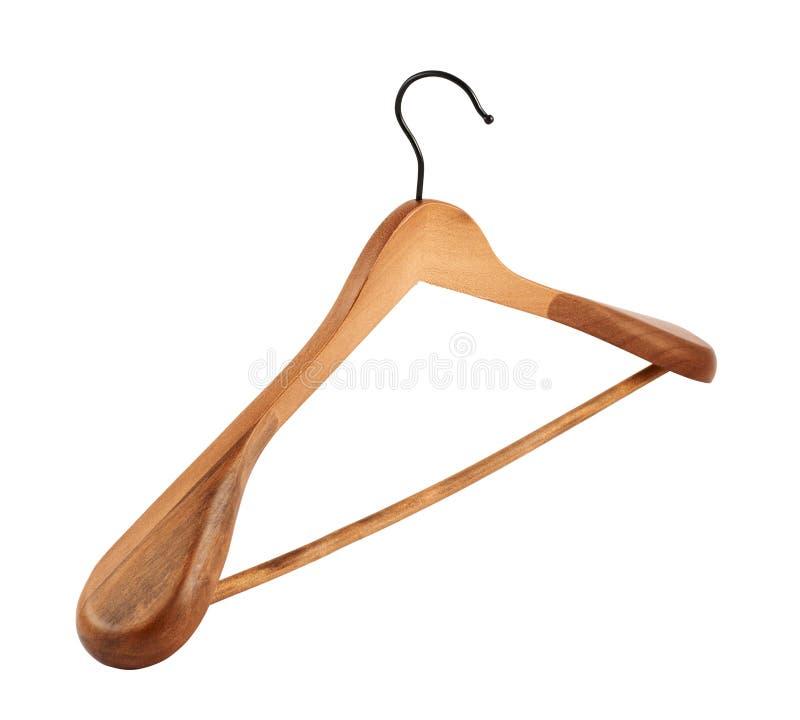 Gancio di cappotto di legno classico immagine stock