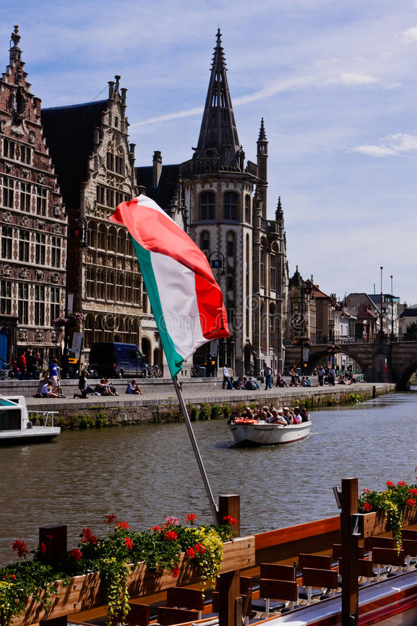 Gand, Belgio. fotografie stock libere da diritti
