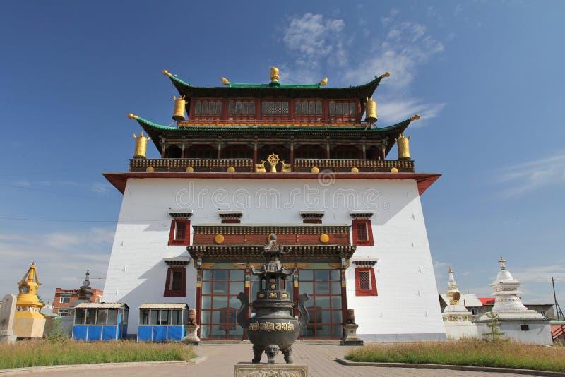 gandan monaster zdjęcie royalty free