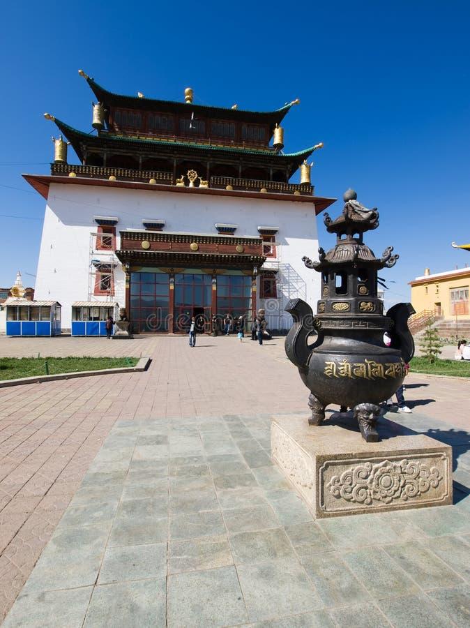 Gandan monastery royalty free stock image