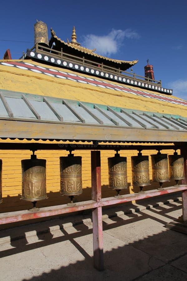 Download Gandan Monastery stock photo. Image of meditate, traditional - 23732424