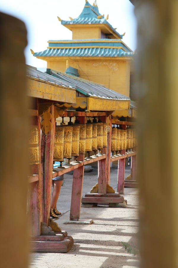 Download Gandan Monastery stock photo. Image of temple, spin, mantra - 23788582