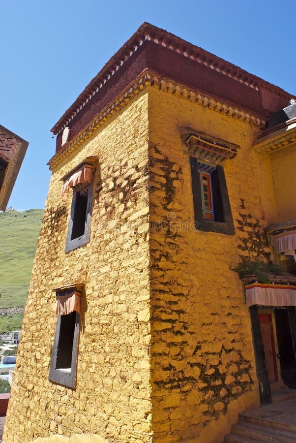 ganden monasteru wierza obraz stock