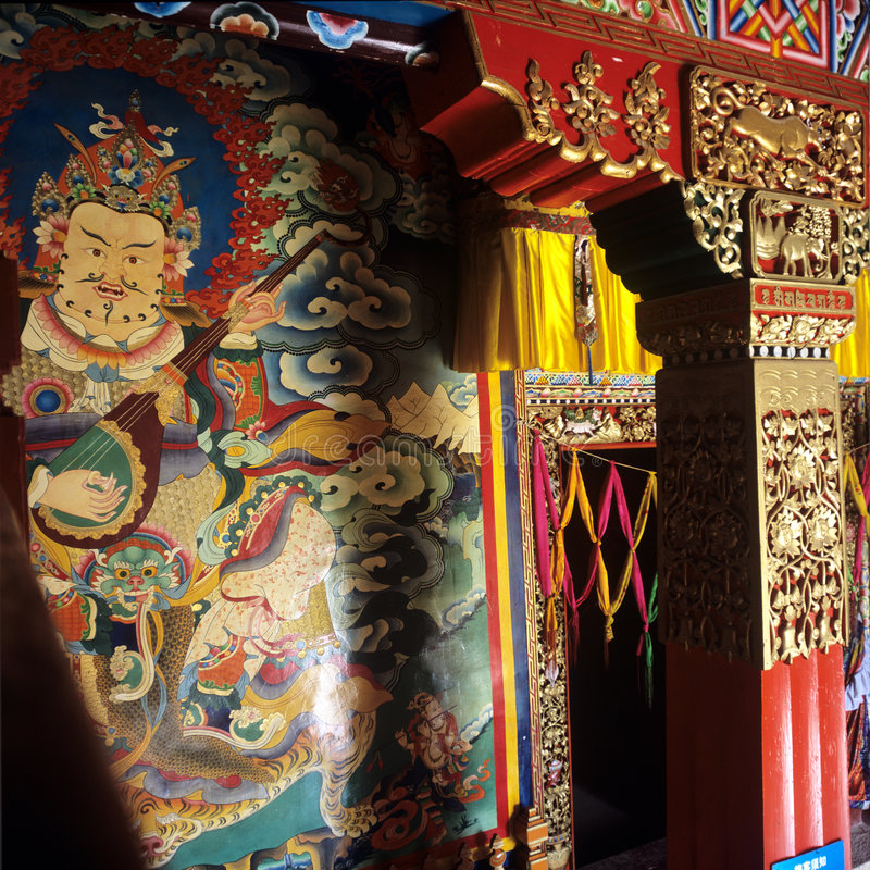 Free Ganden Sumtseling Monastery Royalty Free Stock Images - 8575539