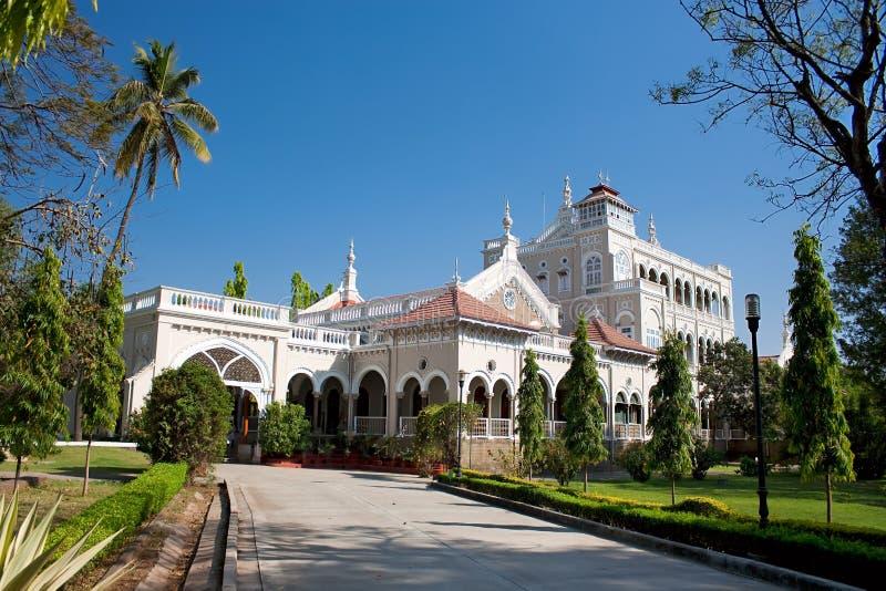 Gandhi纪念品, Aga Khan宫殿, Pune 免版税库存图片